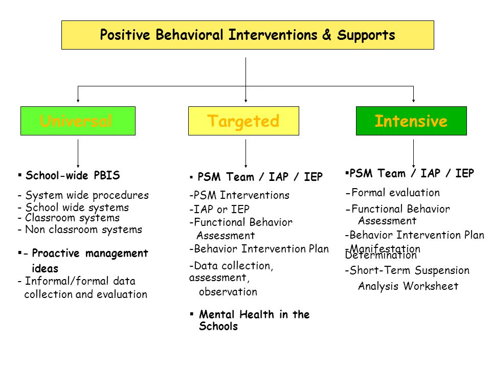 Focus of Tier (Level) III as More Formal Process Team Meets & Typically begins –Formal Collection of data (Frequency data) –Completion of Functional Behavioral Assessment (FBA) –Design of a Behavioral Intervention Plan (BIP) –Implementation of BIP –Progress Monitoring -George Batsche