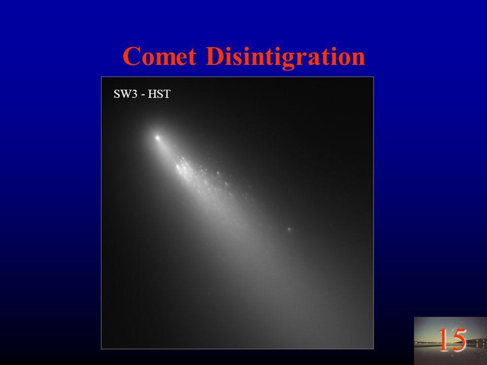 15 Comet Disintigration SW3 - HST