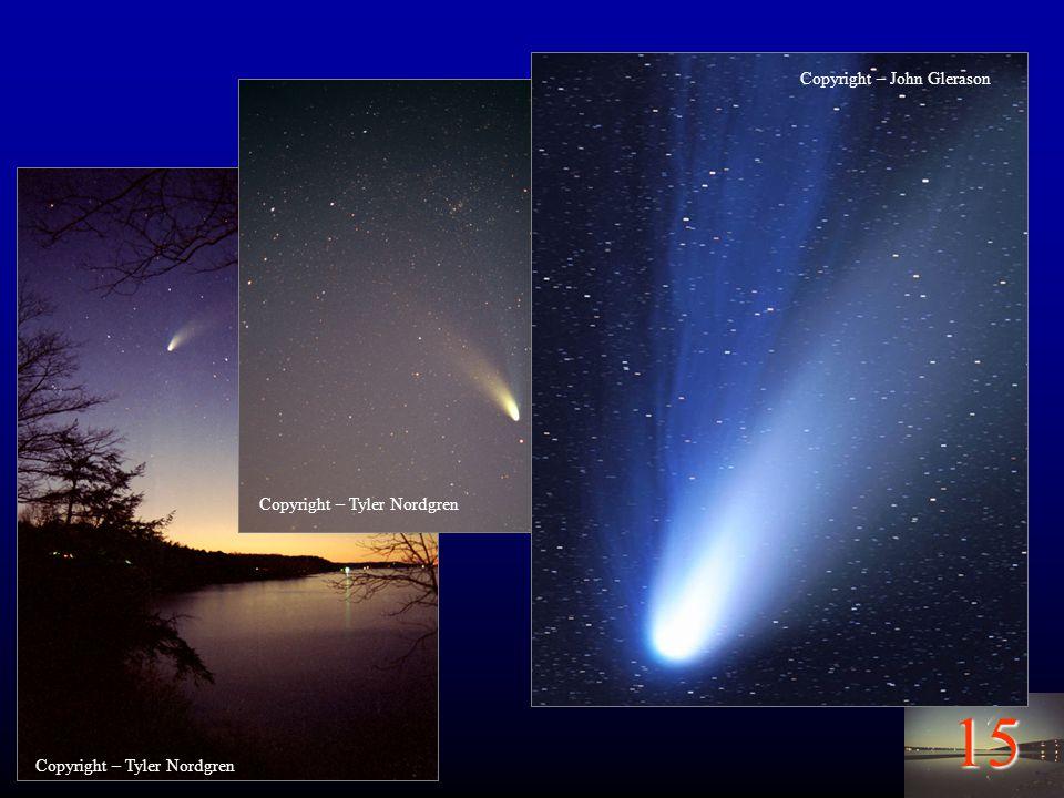 15 Comets – Hale Bopp Copyright – Tyler Nordgren Copyright – John Glerason