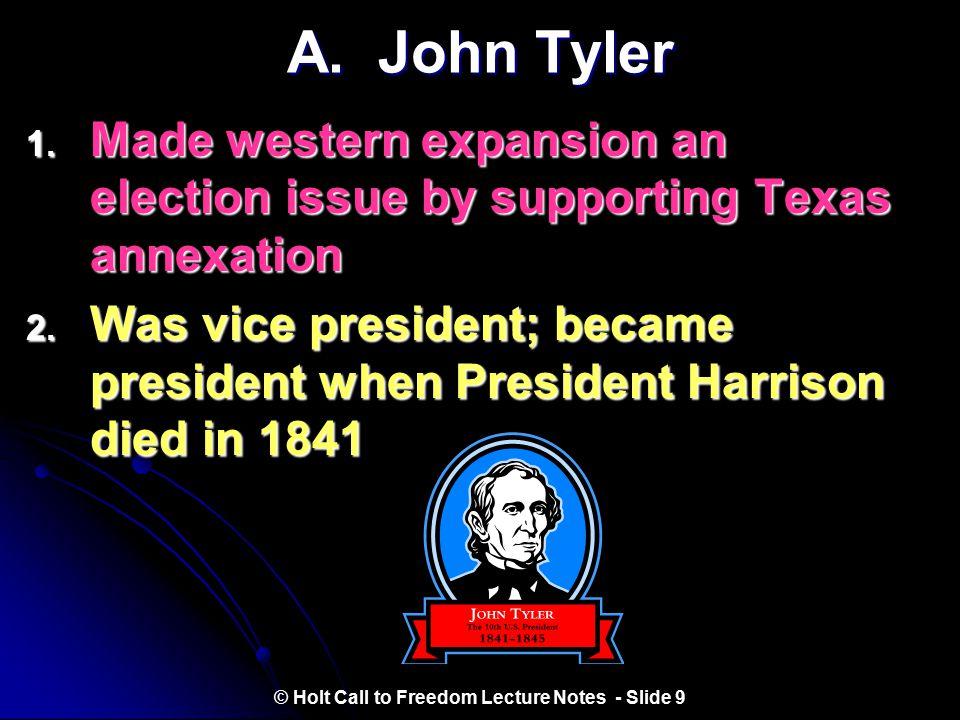 III. The Election of 1844 Source: http://teachpol.tcnj.edu/amer_pol_hist/fi/00000096.jpg