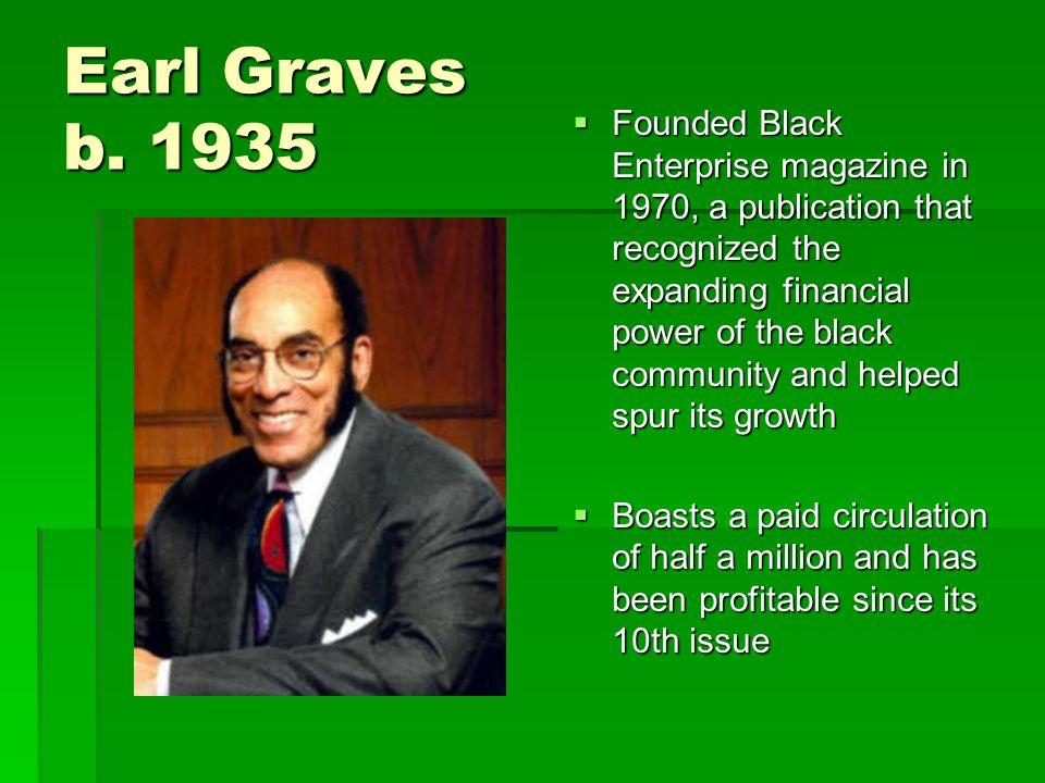 Earl Graves b.