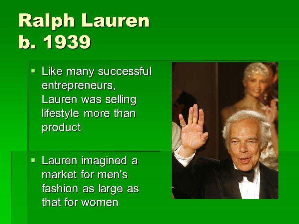 Ralph Lauren b.