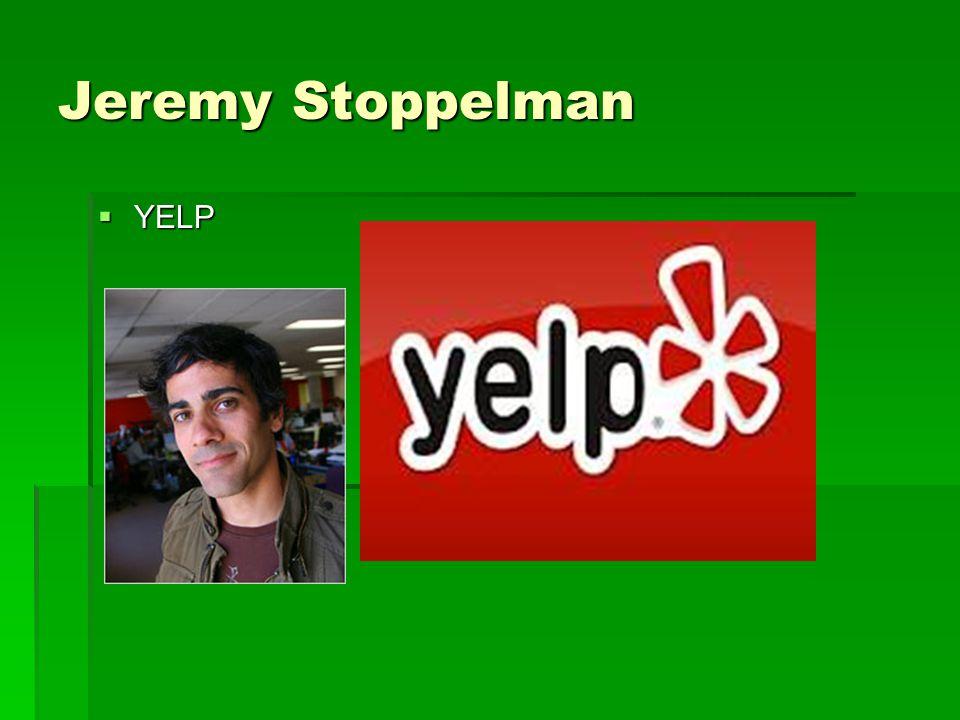 Jeremy Stoppelman  YELP