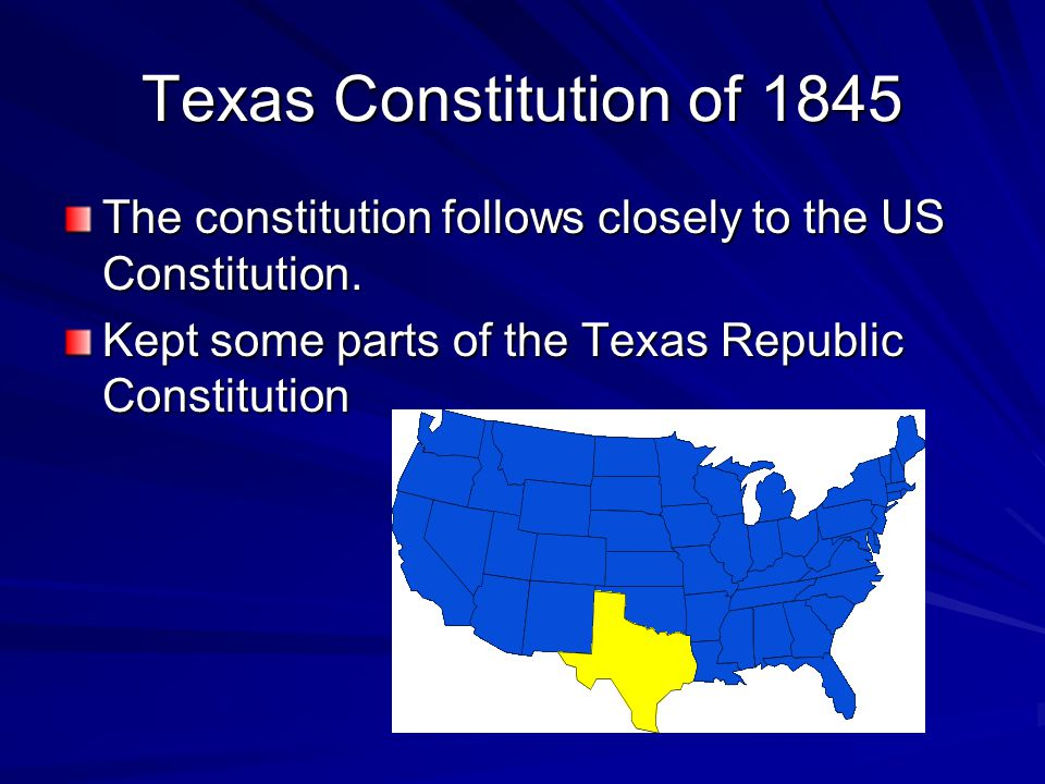 The constitution follows closely to the US Constitution.