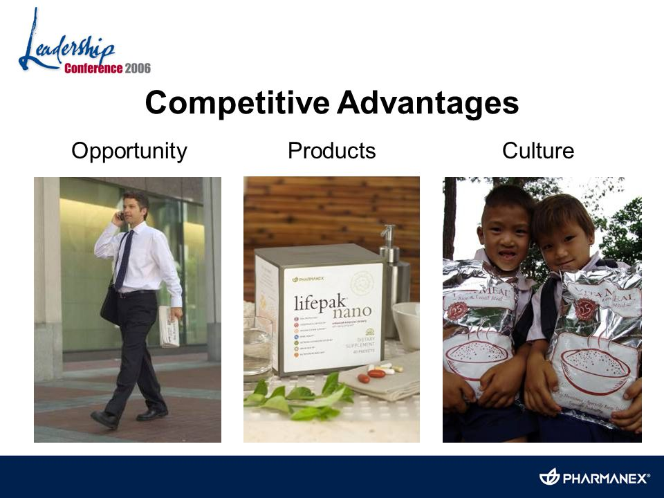 Competitive Advantages Opportunity Products Culture