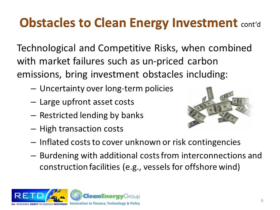 Consideration given to strategies that reflect the following goals: Recast public support around a new, national, economic development initiative Design policies to improve the risk-to-reward ratio in new energy infrastructure.