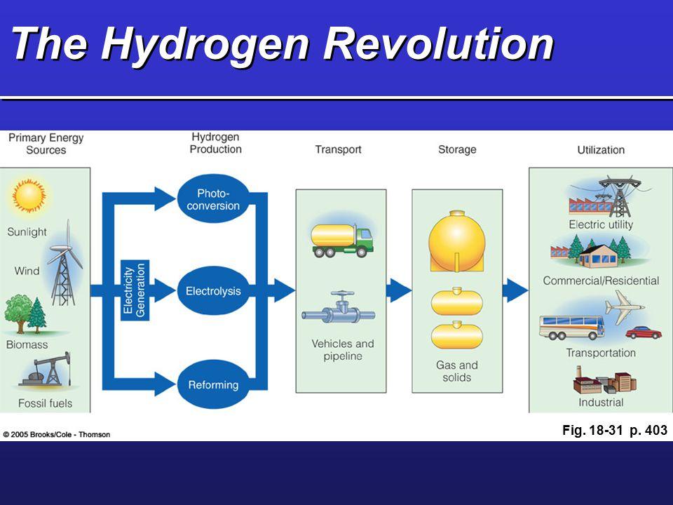 The Hydrogen Revolution Fig. 18-31 p. 403