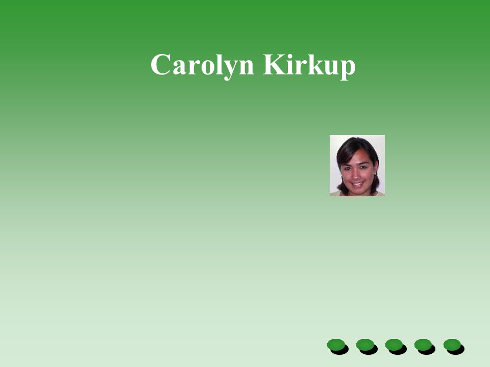 Carolyn Kirkup