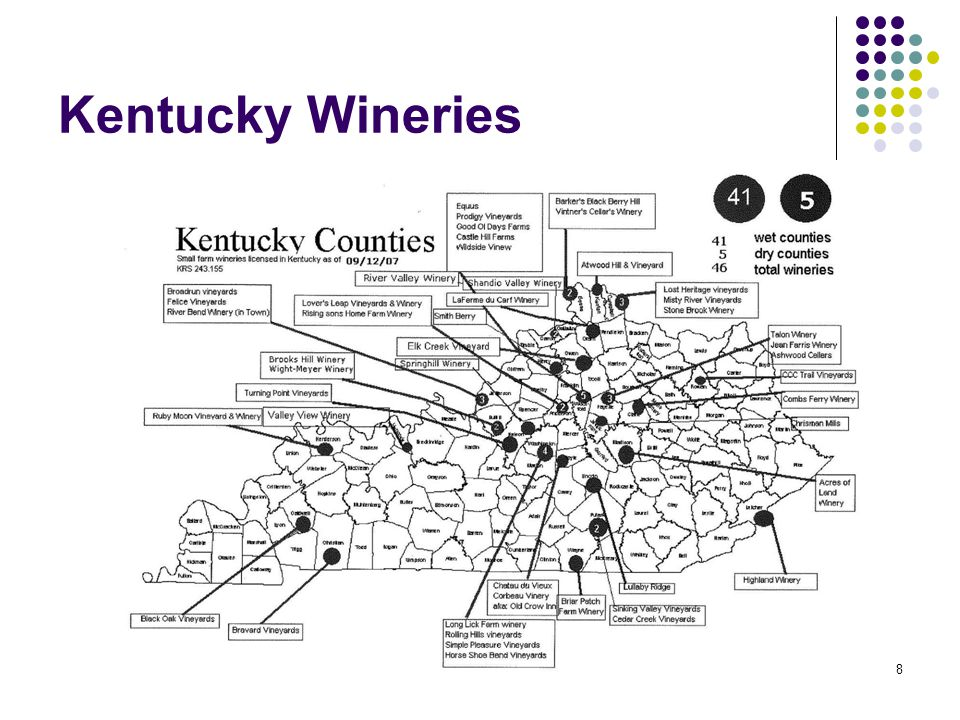 8 Kentucky Wineries