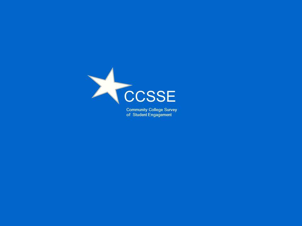CCSSE Community College Survey of Student Engagement