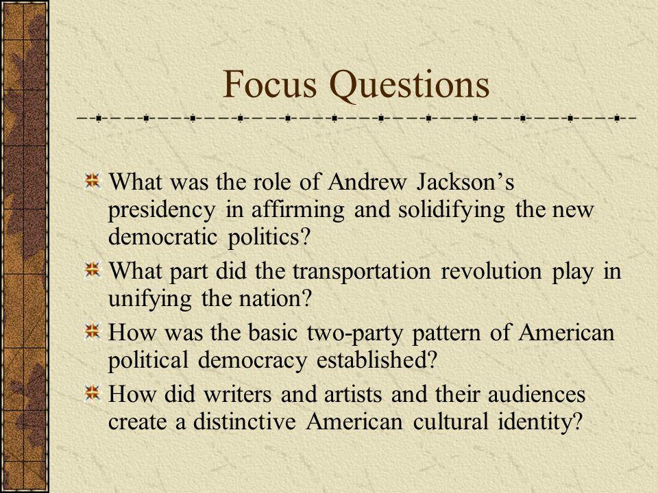 Part Four The Jackson Presidency