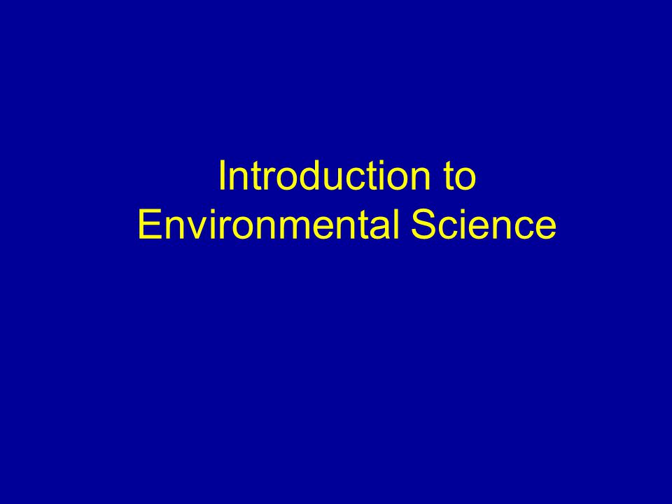 Enviornmental Science 150  Greg Hueckel – (360) 866-8564 home – (360) 888-5667 cell – Email ghueckel@centralia.edu  Required Text Sustaining the Earth (Seventh Edition) G.