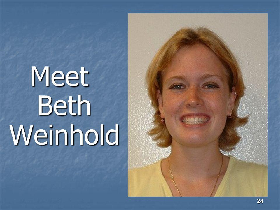 24 Meet Beth Weinhold