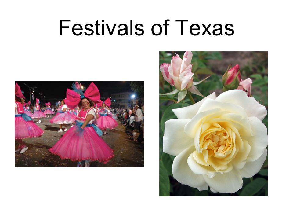 Festivals of Texas