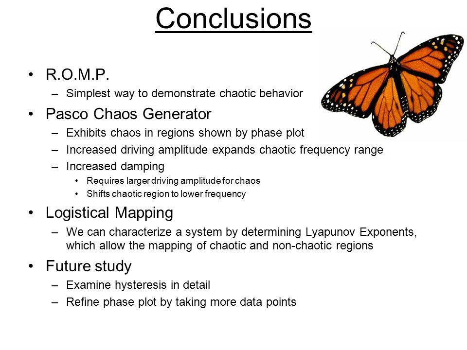 Conclusions R.O.M.P.