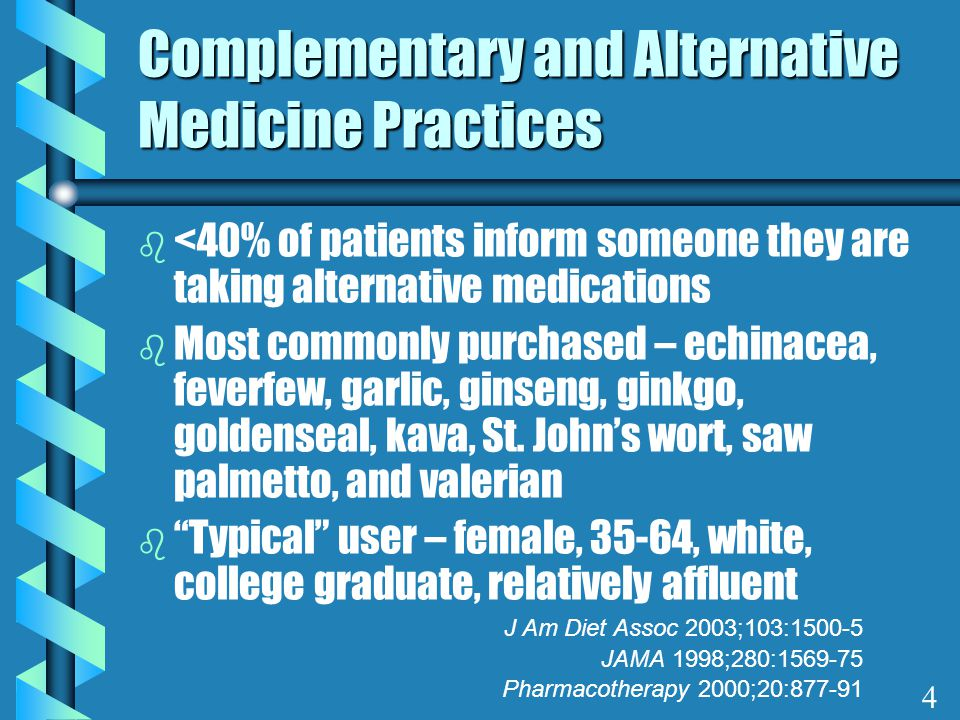 Pharmaceuticals vs Phytomedicines b Must prove efficacy and safety b Mandatory ADE monitoring b Product formulation standards b Consensus for use b Marketing more restricted b Safety & efficacy data may be lacking b ADE monitoring not mandatory b No product standards mandated b Dosing uncertain b No treatment or cure claims on label 5