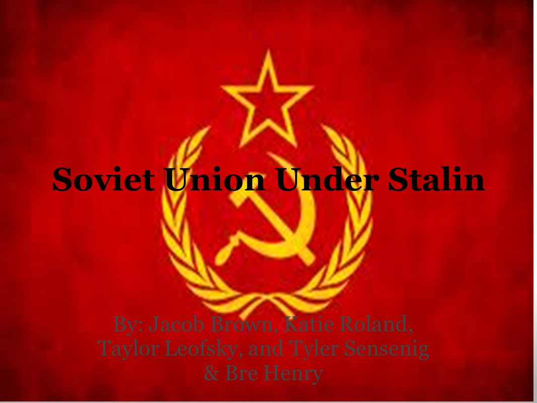 A Totalitarian State Karl Marx had predicted that under communism the state would wither away, under stalin the opposite happened Stalin turned the Soviet Union into a totalitarian state controlled by a powerful and complex bureaucracy.