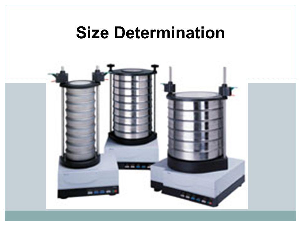 Size Determination