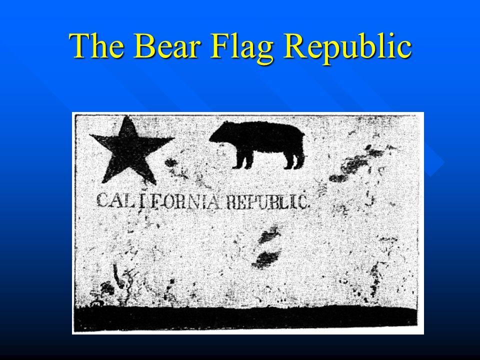 The Bear Flag Republic