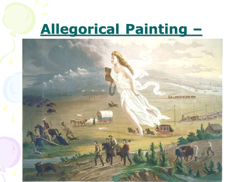 Allegorical Painting –