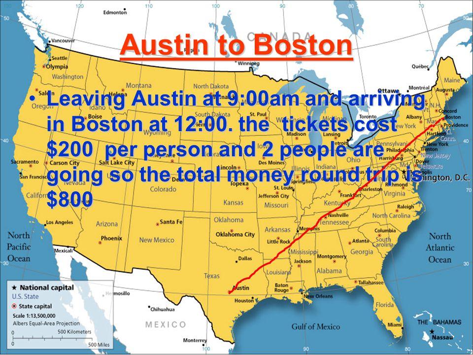 Boston Trip By: Tyler & Carson
