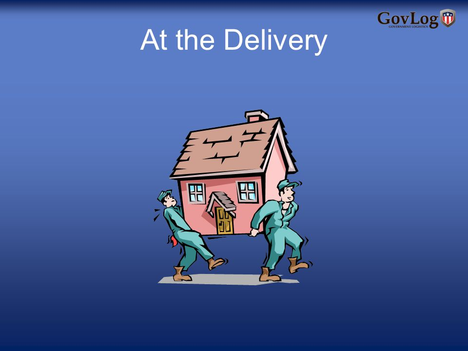 At the Delivery