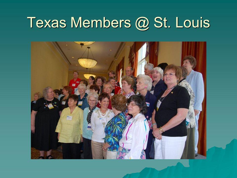 Texas Members @ St. Louis