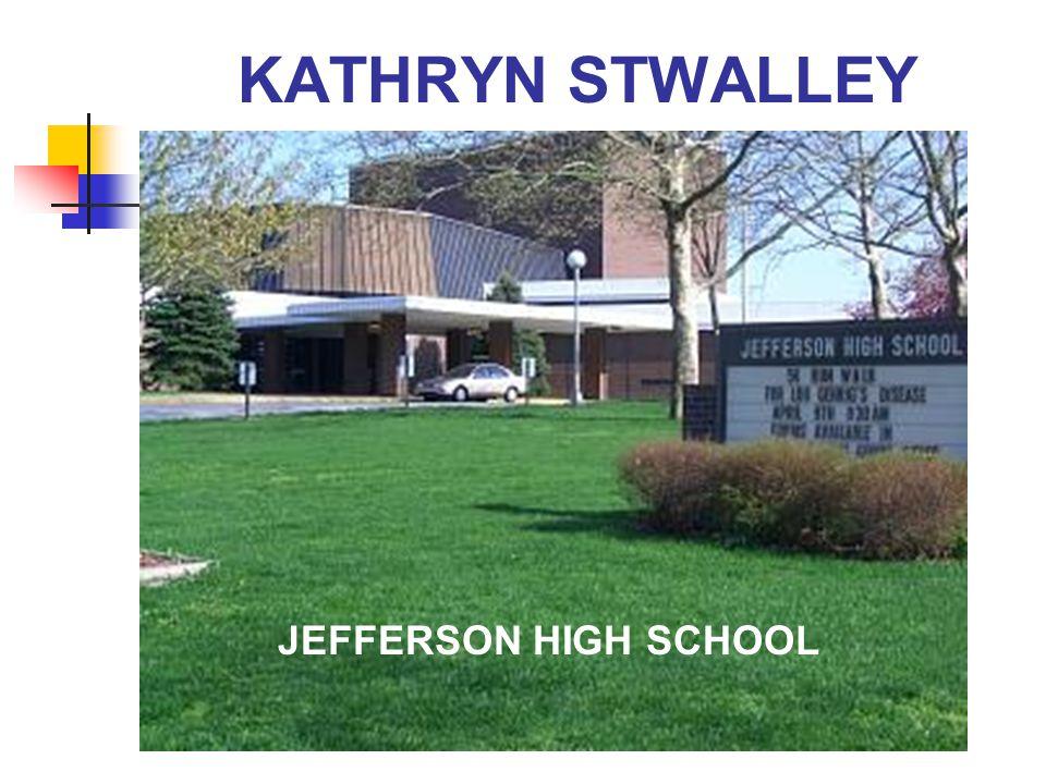 KATHRYN STWALLEY JEFFERSON HIGH SCHOOL