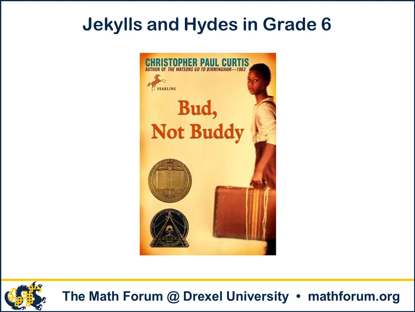 The Math Forum @ Drexel University mathforum.org CCSS Mathematical Practice 1 Make sense of problems and persevere in solving them.