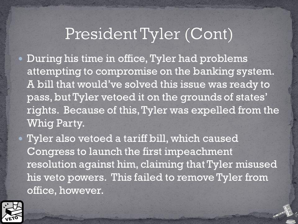 Despite a negative public image, Tyler wasn't all bad.