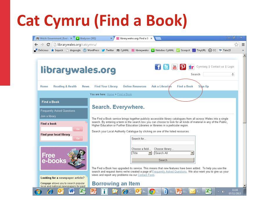 Cat Cymru (Find a Book)