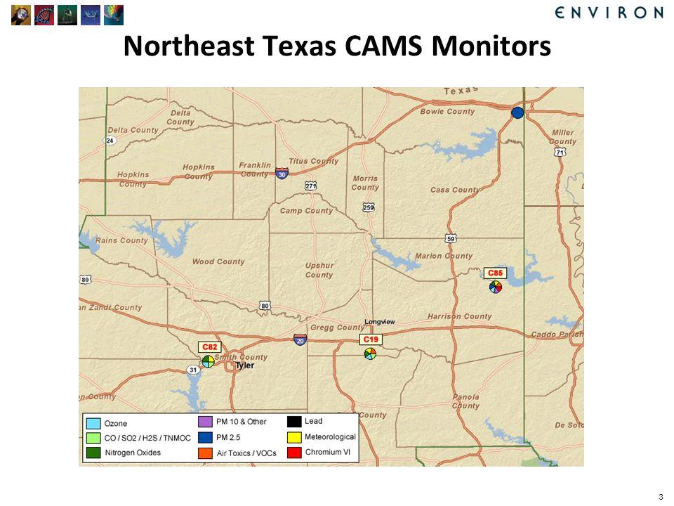 Northeast Texas CAMS Monitors 3
