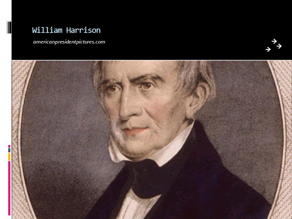 William Harrison americanpresidentpictures.com