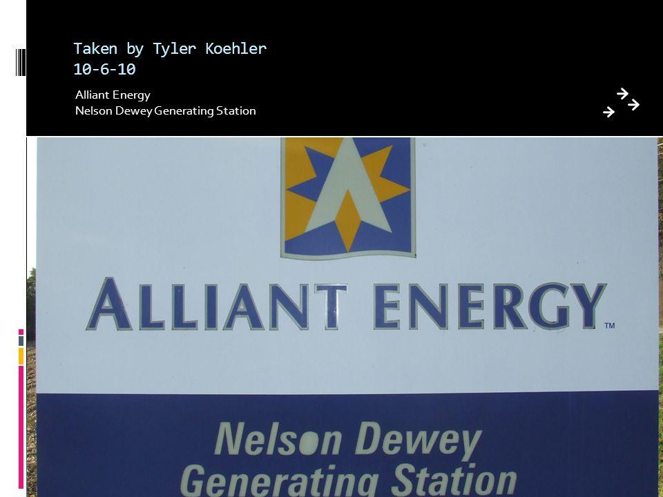 Taken by Tyler Koehler 10-6-10 Alliant Energy Nelson Dewey Generating Station