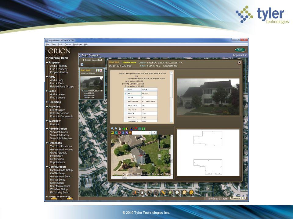 Orion & Arc GIS latest development ARC GIS Viewer development complete.