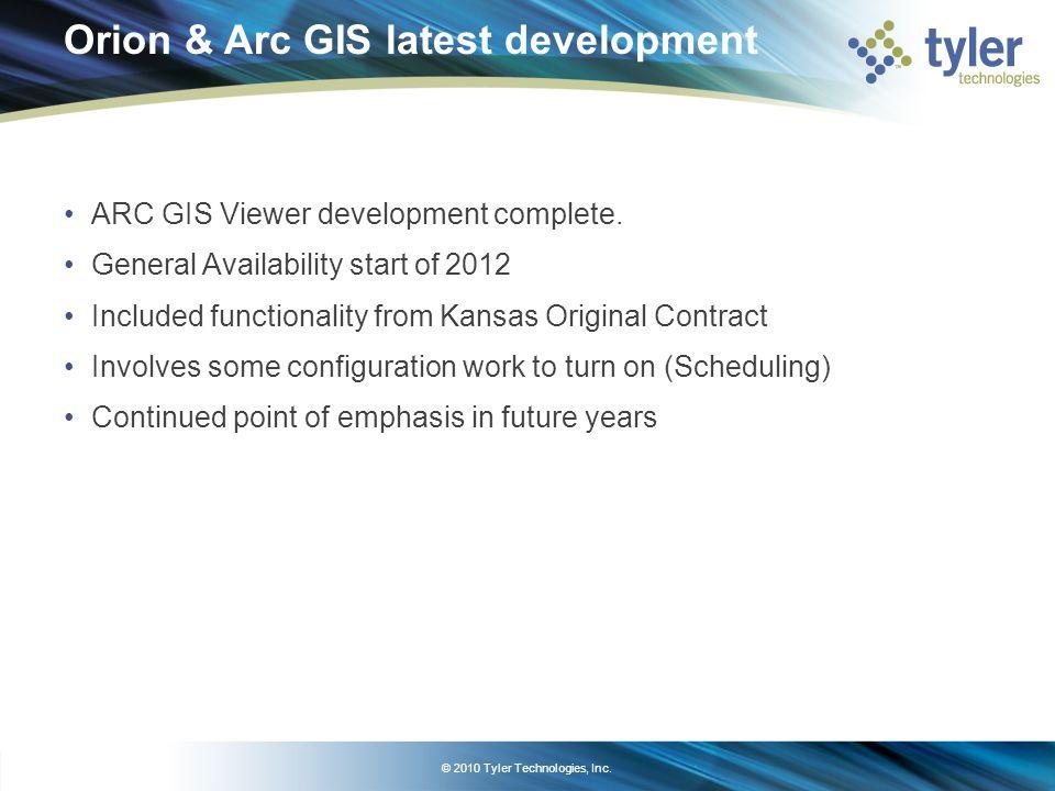 © 2010 Tyler Technologies, Inc.