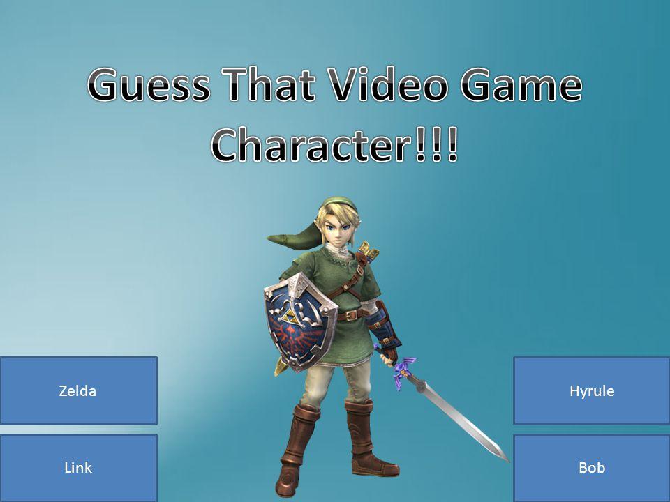 Link ZeldaHyrule Bob