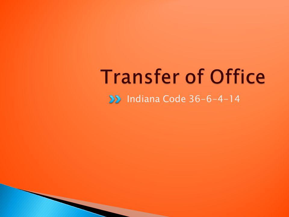 Indiana Code 36-6-4-14