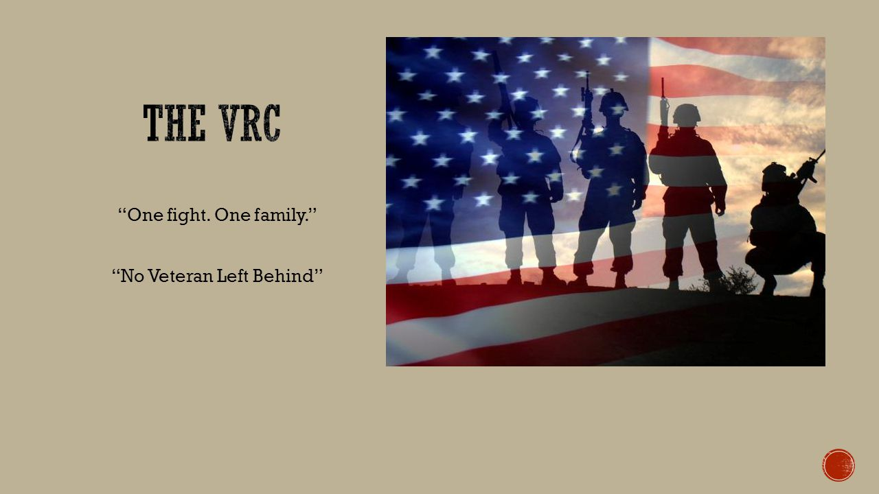 One fight. One family. No Veteran Left Behind