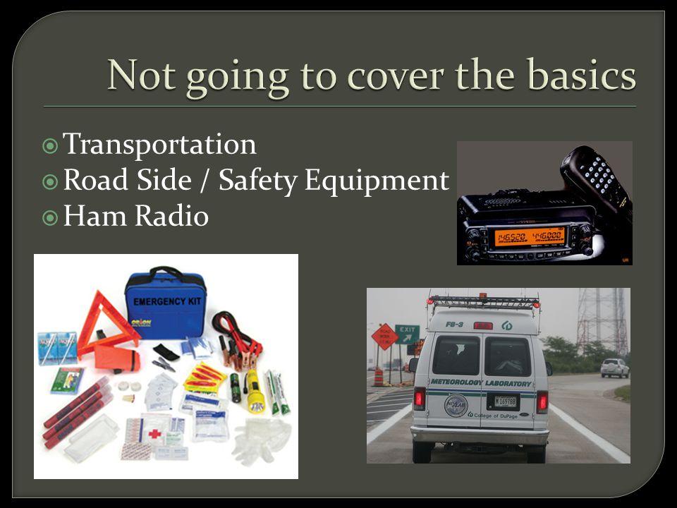  Transportation  Road Side / Safety Equipment  Ham Radio