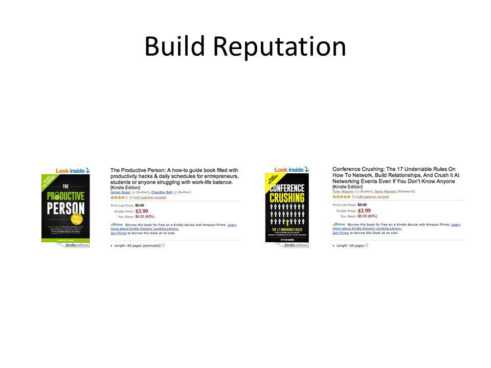 Build Reputation