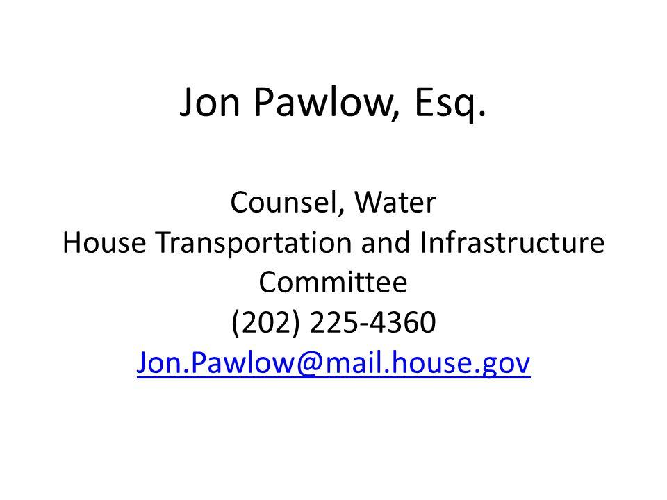 Jon Pawlow, Esq.