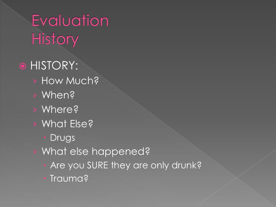  HISTORY: › How Much. › When. › Where. › What Else.
