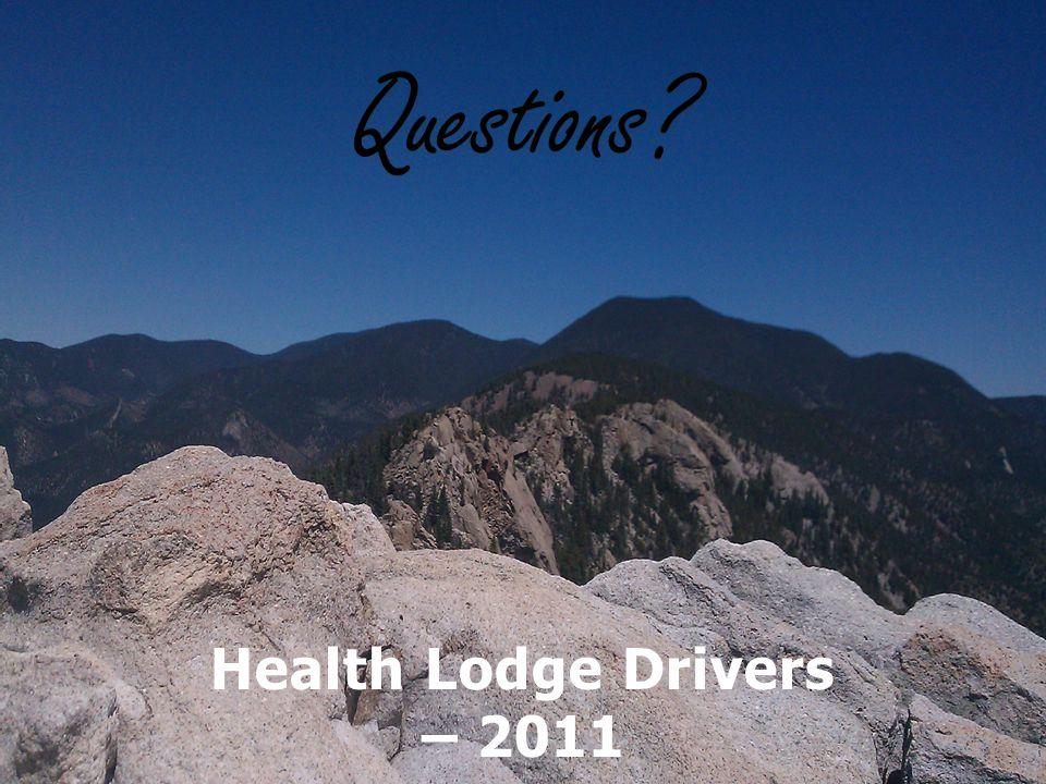 Health Lodge Drivers – 2011 Jennifer Baalmann, Whitney Trusty, Marcus Hook, Tyler Keller and Nick Allen