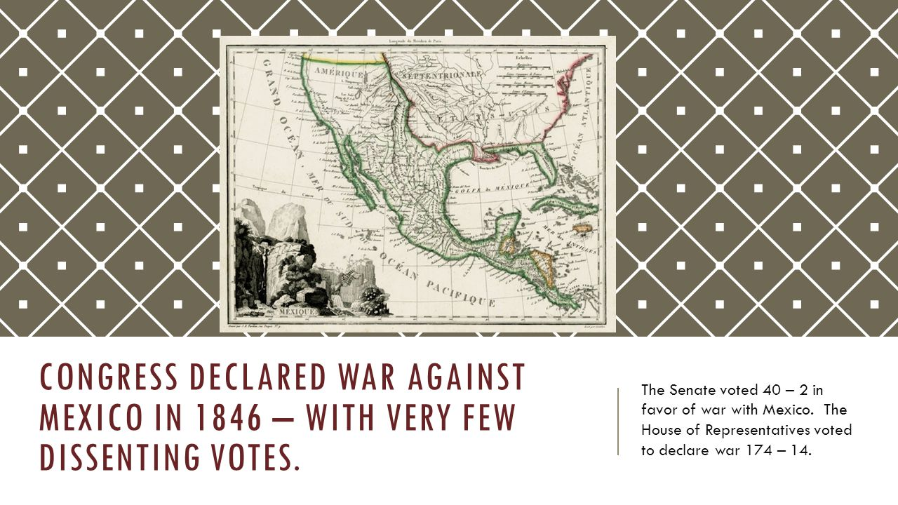 THE THREE PRONGED ATTACK ON MEXICO, 1846 - 1848  The United States invaded Mexico from the Texas border and moved to the south, taking Monterrey and Buena Vista rapidly.