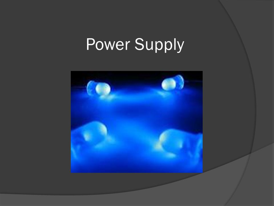  The goal of the power supply system is to provide all the loads with necessary power level  Batteries and separate control circuits will be used for each subsystem  We are still undecided if we want to design and build converters or if we are going to buy power management chips from TI