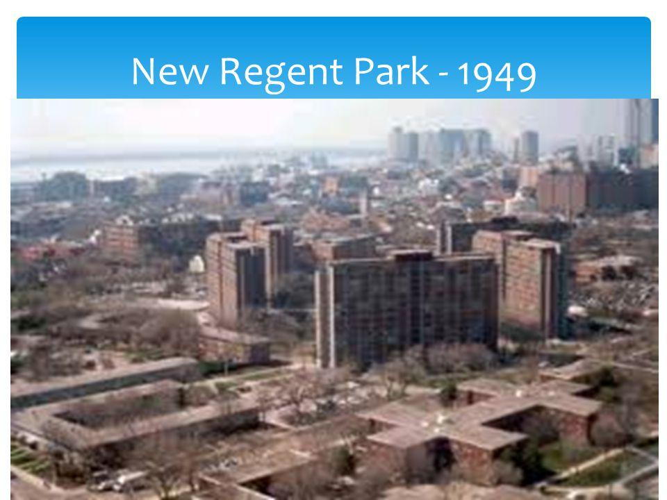 New Regent Park - 1949