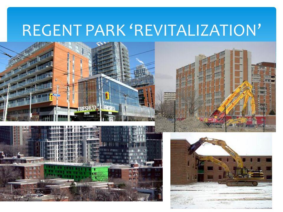REGENT PARK 'REVITALIZATION'
