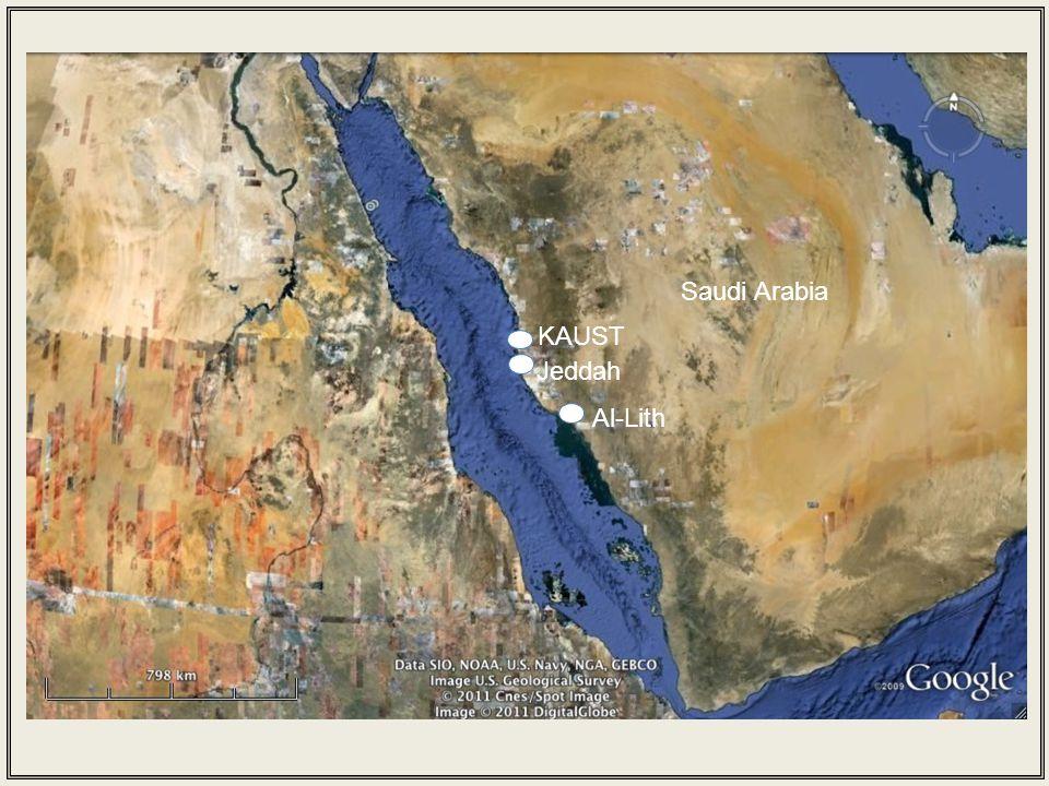 Jeddah Al-Lith Saudi Arabia KAUST