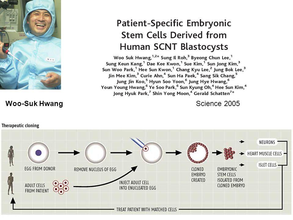 Science 2005Woo-Suk Hwang